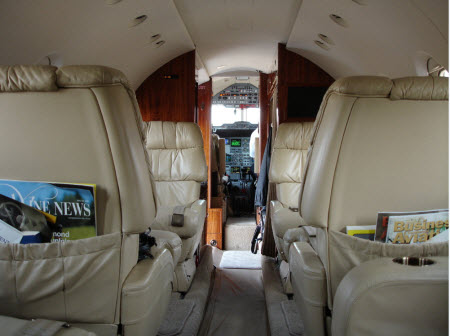 Corporate-jet-interior